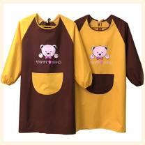 apron Sleeve apron waterproof Korean version PVC Personal washing / cleaning / care Average size public yes Cartoon