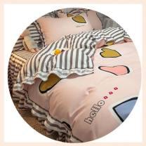 Bedding Set / four piece set / multi piece set Polypropylene fiber Embroidery, quilting Others other Other / other Others 4 pieces other Bed skirt Princess style