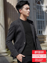 man 's suit Youth fashion grey Bensley routine L BSL-X38 Polyester 100% Autumn of 2018 Pure e-commerce (online only) Knitted fabric