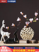 Ornaments ceramics plant Simple and modern Desktop Decoration living room Micro decoration industry Lucky Y9303-04 Semi-manual