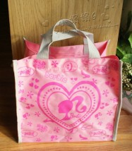 Lunch box bag Disney Pink [Barbie] black transformers