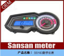 Motorcycle instrument Without sensor with sensor