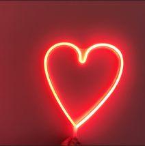 Decorative lamp Love warm lamp love red lamp love pink lamp