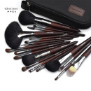 Make up brush Edencomer wool coffee Long rod China Normal specification Any skin type nothing Others