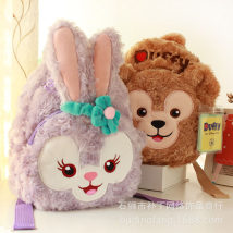 a bag Round Duffy bear round Barry rabbit 368 bags * package Other / other Type * undetermined 3 years old 3D Backpack Winnie the Pooh