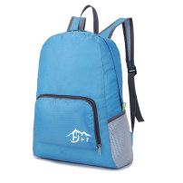 Backpack Hongjing . rose light green sky blue Below 20L woman one thousand and twenty-eight General camping / hiking yes oxford other no Resin network China soft roll Width 33cm, height 42cm, thickness 14cm