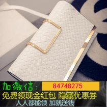 Bag clutch bag PU Envelope bag Other / other White Silver Black champagne brand new in leisure time soft Magnetic buckle no Solid color Single root nothing youth Envelope shape weave Hard handle polyester cotton Zipper pocket mobile phone bag 002 soft surface set-in pocket