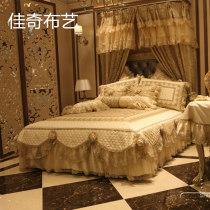 Bed cover polyester fiber Jiaqi jindoudou Solid color Beige Brown