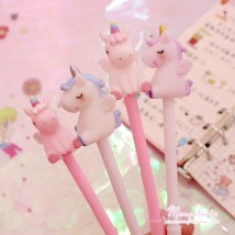 Roller ball pen Other / other 0.5mm Others black x201878 Unicorn pen random hair White collar students Daily written signature Quick drying