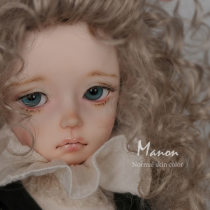 BJD doll zone a doll 1/4 Over 14 years old goods in stock White skin pink skin tan skin Naked baby (with eye opener) naked baby (with half sleeping eye opener) Oueneifs A pair of brown eyes