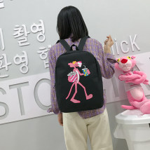 Backpack oxford Other / other Pink grey black brand new in zipper leisure time Double root Cartoon soft children no Soft handle Cartoon animation other