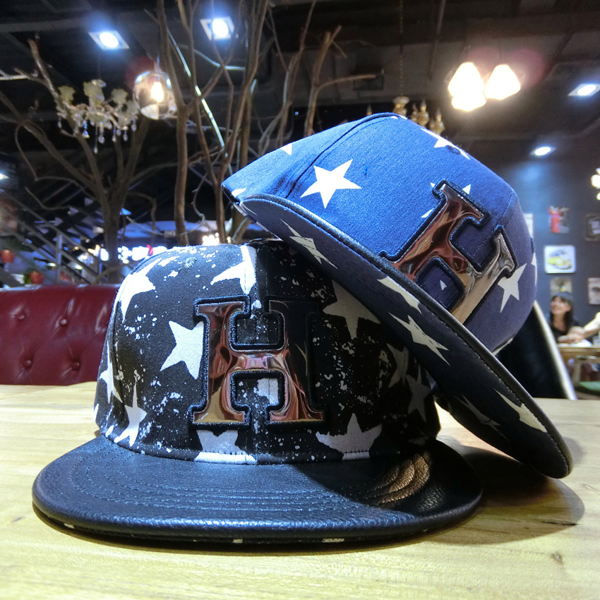 Hat Denim navy blue Adjustable Hip hop hat Spring summer autumn winter currency street Young lovers dome Wide eaves 25-29, 20-24, 15-19 letter Travel