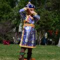 Children's performance clothes Light blue dark blue male 50# 60# 70# 80# 90# 100# 110# 120#