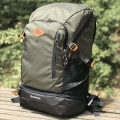 Backpack Decathlon / Decathlon Dark grey Khaki ginger 30 liters male eight million three hundred and eighty-three thousand five hundred and ninety-eight two hundred and sixty-nine point nine nine General camping / hiking no polyester fiber Autumn 2013 yes China 30L QUECHUA