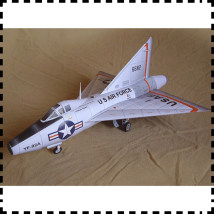 model plane Junwu house Other toys 12 years old Chinese Mainland Paper mold The fighter Xf-92a delta wing testing machine 1-48 High quality printing on imported paper