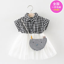 Dress Fruit Skirt Pink fruit skirt yellow summer skirt random red wine red silver Khaki gray black apricot pink rose red watermelon red lotus root orange ginger yellow bright yellow Other / other female 73cm 80cm 90cm 100cm Cotton 100% summer Korean version Skirt / vest Solid color cotton Class A