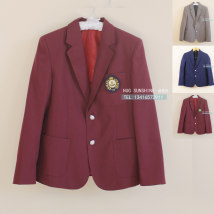 suit Spring 2017 Dark red - orthodox suit coat (excluding micro chapter) grey - orthodox suit coat (excluding micro chapter) blue - orthodox suit coat (excluding micro chapter) XXL XXXL S M L XL Long sleeves routine Straight cylinder tailored collar Single breasted Sweet routine Solid color other