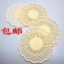 Coaster circular Plastic Self made pictures Meiyi European style Idyllic 005 yes
