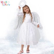 Clothes & Accessories Magic Party Christmas Parenting Angel Devil White angel girl's Christmas Dress Yes