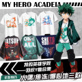 Cartoon T-shirt / Shoes / clothing T-shirt Over 14 years old My hero College goods in stock S ml XL XXL regular No season Japan currency Leisure Japanese fashion trend cotton