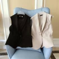 Vest S M L XL -1 Лето 2018 года общепринятый дикий Двубортный MJ20171061 конопля