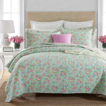 Bed cover cotton Other / other Bed cover 230cmx250cm + 2 pillow cases Plants and flowers Pastoral Decor Qualified products