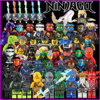 Building / patching blocks Phantom Ninja Series Spell plug building blocks Compatible with Lego China Mainland Plastic/rubber ≥ 14 years old No