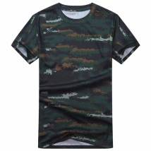 T-shirt three thousand five hundred and two Eighty-eight 51-100 yuan L XL XXL XXXL Tiger spot camouflage neutral summer