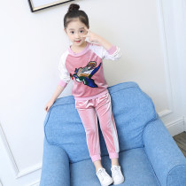 suit Other / other Pink Navy 110cm choose one size bigger by height 120cm choose one size bigger by height 130cm choose one size bigger by height 140cm choose one size bigger by height 150cm choose one size bigger by height 160cm choose one size bigger by height female spring and autumn motion Socket