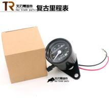 Motorcycle instrument 140 black case two way odometer 140 silver case two way odometer Odometer