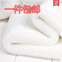 Fabric / fabric / handmade DIY fabric Wool White extra thick white thick black thick deep coffee thick light coffee thick more than half a meter price piece Europe and America Wufenghuang cloth art workshop
