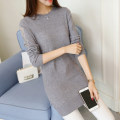 Wool knitwear Spring of 2018 SMLXL Grey red Caramel black Long sleeves singleton  Socket Medium length routine commute easy Low crew neck routine Solid color Socket Korean version AS17C5160B You've got to go Other 100% Pure e-commerce (online only)