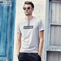 T-shirt Youth fashion white routine 175/L Enjeolon / enjeolon T8022 Cotton 95% polyurethane elastic fiber (spandex) 5% Spring 2017 Pure e-commerce (online only)