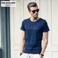T-shirt Youth fashion white routine 175/L Enjeolon / enjeolon T1704 Cotton 95% polyurethane elastic fiber (spandex) 5% other Spring 2016 Pure e-commerce (online only)