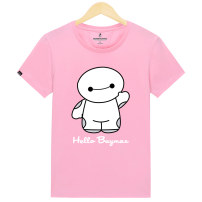 T-shirt Youth fashion Black t-hello routine 3XL Baijin BJGXT003 Cotton 95% polyurethane elastic fiber (spandex) 5% Knitted fabric Summer 2016 Pure e-commerce (online only)