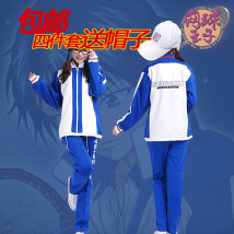 Cartoon T-shirt / Shoes / clothing Coat, sweater, trousers, T-shirt and hat Over 14 years old Prince of tennis goods in stock XS S M L XL XXL XXL one size fits all No season Japan currency Walking in the starry sky Leisure College Japanese Fashion Trend Sports commuting cotton Echizen Ryoma