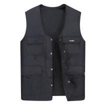 Vest / vest Business gentleman Others Black, army green, khaki, black plush, military green plush It is suggested that the small size should be 100-120 kg, the medium size should be 120-145 kg, the large size should be 145-170 kg, and the larger size should be 170-200 kg Other leisure easy Vest 2018
