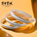 Bracelet Silver ornaments 1001-3000 yuan Centennial Baocheng brand new ethnic style goods in stock female Fresh out of the oven Not inlaid Plants and flowers 99 Zuyin Spring 2015 yes