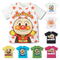 T-shirt Other / other 90, 100, 110, 120, 130 neutral summer Short sleeve Crew neck leisure time No model nothing cotton Cartoon animation Cotton 99% other 1% X370 Class B Sweat absorption