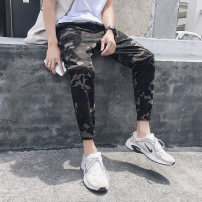 Casual pants DHW Youth fashion Camouflage grey M routine Micro bomb 1805D2161-K15 Cotton 100% other Summer of 2018 Pure e-commerce (online only)