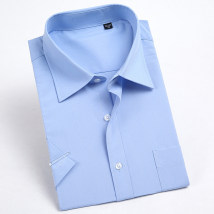 shirt Business gentleman Minzhu Forty-one 88 # white Thin money MZZ18-22# Cotton 80% pet 7% others 13% Summer of 2018 Pure e-commerce (online only)