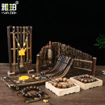 Jewelry display rack RMB 1.00-9.99 Yaper brand new Bamboo jewelry rack