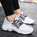 Low top shoes White, blue, black 39 40 41 42 43 44 Ygerbuli / yagoburi PU Frenulum Round head Outdoor leisure shoes No interior The trend of youth daily Solid color Flat heel spring and autumn rubber ventilation Adhesive shoes Youth (18-40 years old) Sewing Low heel (1-3cm) cloth Korean version