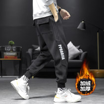 Casual pants Jiarong Youth fashion M L XL 2XL 3XL 4XL 5XL Plush and thicken trousers Other leisure easy Micro bomb JR-TYJ26 winter Large size 2020