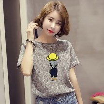 T-shirt SMLXL2XL Summer of 2018 Short sleeve Crew neck easy Regular routine commute 18-24 years old Korean version youth Wrsdrita / Wandan Summer Polyester 65% Cotton 30% polyurethane elastic fiber (spandex) 5%