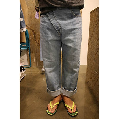 Jeans Fashion City Others S M L Light blue dark blue trousers Other leisure