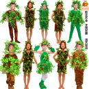 Children's performance clothes neutral 90cm 100cm 110cm 120cm 130cm 140cm 150cm 160cm 170cm 180cm Lu Ming and Li Shi Class C SF big tree Costume other Cotton 70% polyethylene terephthalate (polyester) 30% polyester fiber