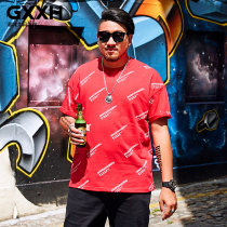 T-shirt Youth fashion T18876c red routine 6XL GxxH t18876c Cotton 95% polyurethane elastic fiber (spandex) 5% Summer of 2018 Pure e-commerce (online only)