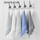 Handkerchief / handkerchief Ben White dark blue business grey dolphin grey 34x35cm currency 67G js215 public Sanli