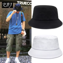 Hat cotton Small S (53-56cm) standard m (55-60cm) Basin cap / fisherman's hat Spring and summer currency street Young couple flat roof Short eaves 15-19, 20-24, 25-29, 30-34 pattern Travel Flat eaves High quality YF18-cham2 Spring / summer 2018 no